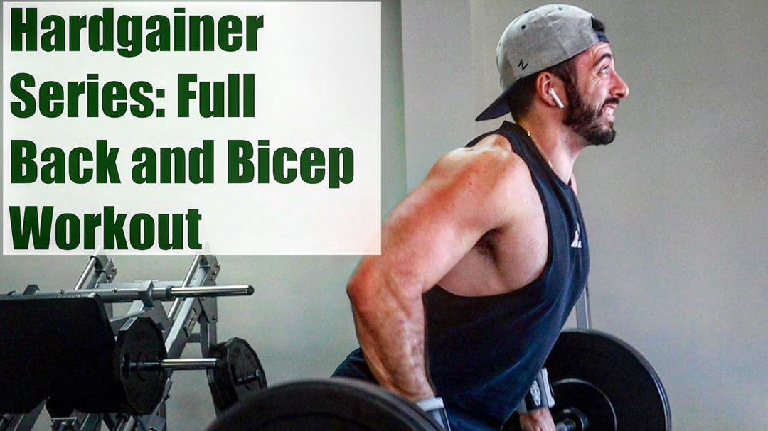 Full Back and Bicep Workout - Hardgainer Workout Series EP 1